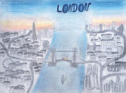 Nora wollte schon immer nach London