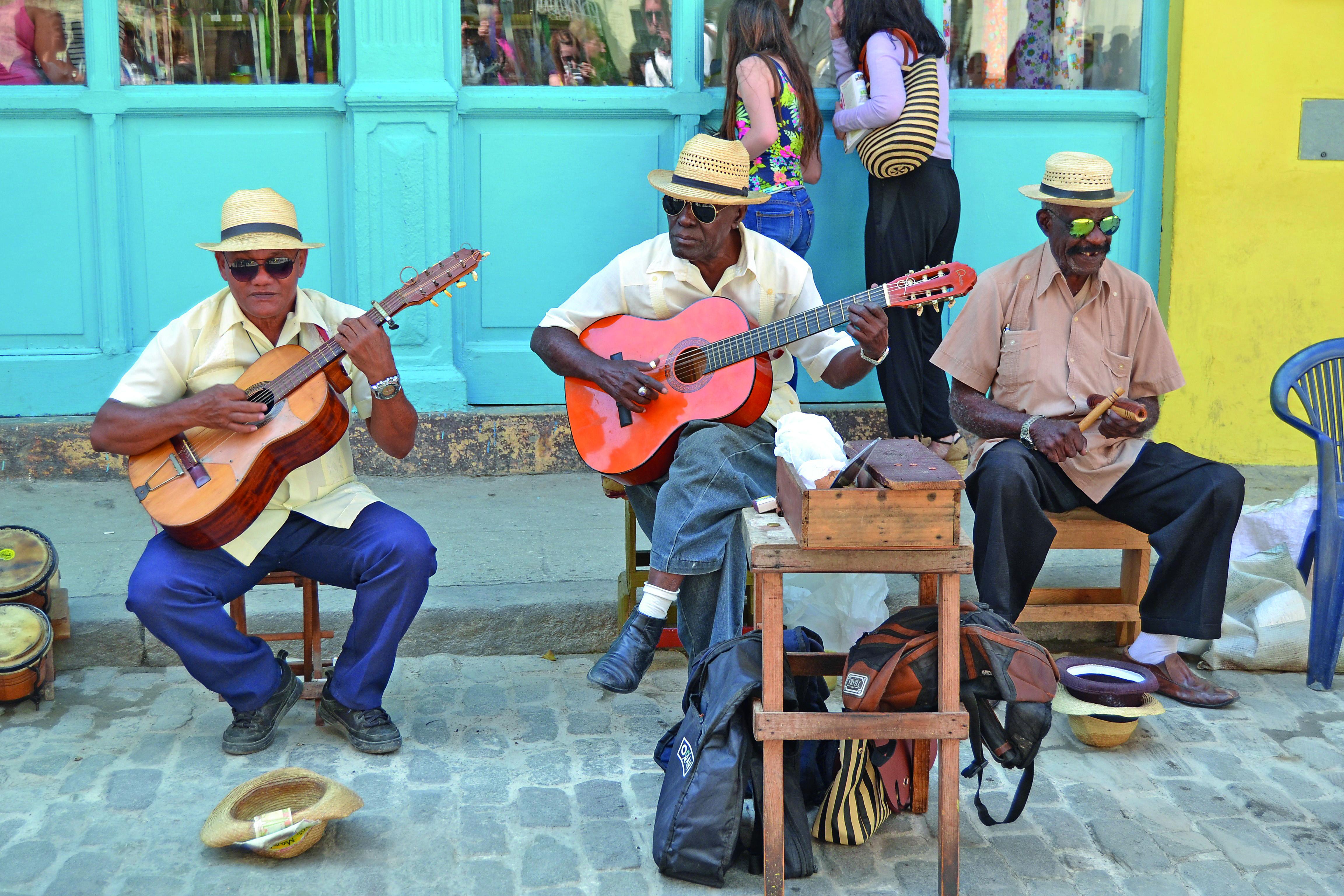 Kuba Musiker Havanna