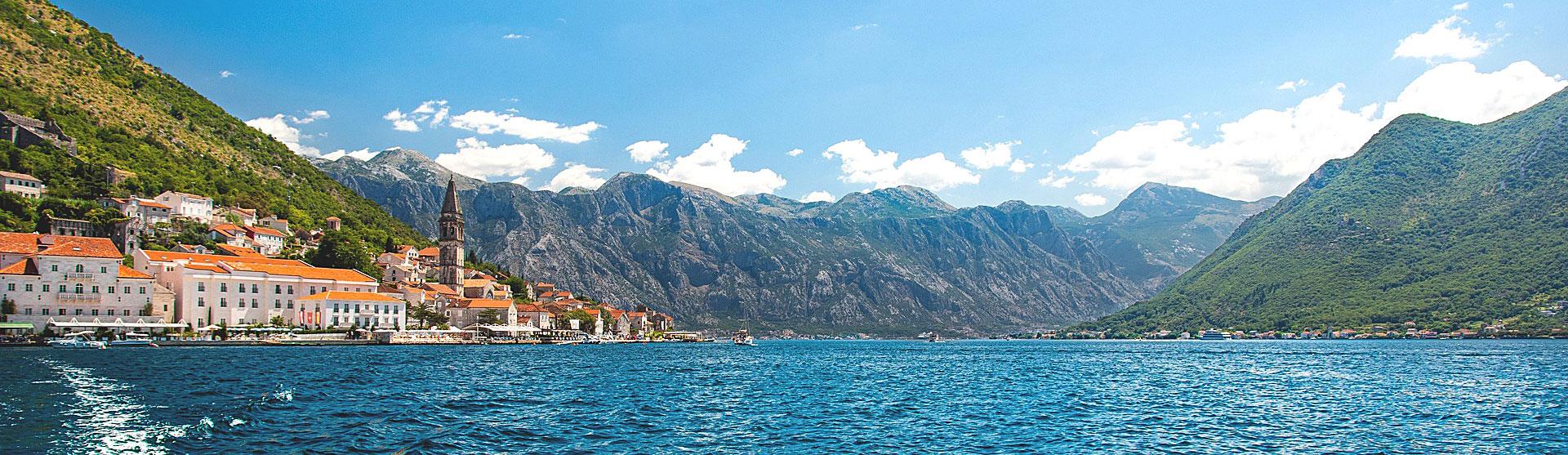 Perast Bucht Montenegro
