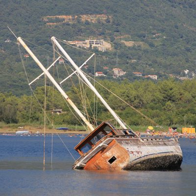 Schiffsfrack Montenegro