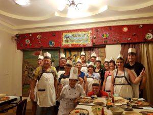 gemeinsames Kochen in Vietnam
